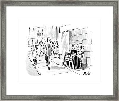New Yorker August 22nd, 1988 Framed Print by Warren Miller