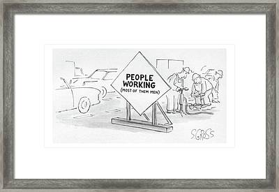 New Yorker August 26th, 1985 Framed Print