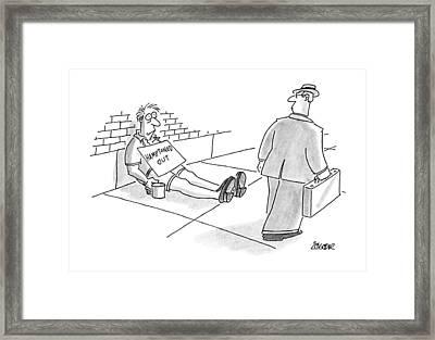 New Yorker August 26th, 1991 Framed Print