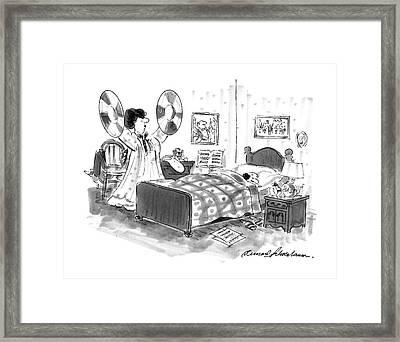 New Yorker August 26th, 1996 Framed Print by Bernard Schoenbaum