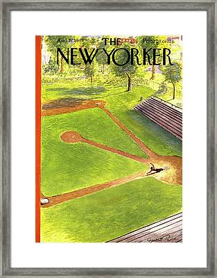 New Yorker August 27th, 1949 Framed Print by Garrett Price