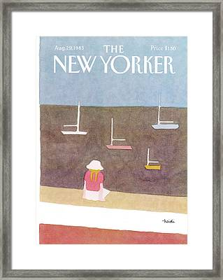 New Yorker August 29th, 1983 Framed Print