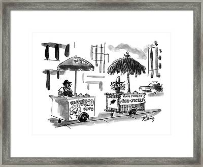 New Yorker August 2nd, 1993 Framed Print by Donald Reilly