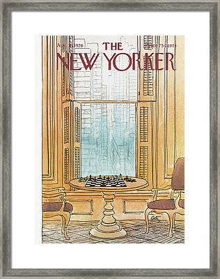 New Yorker August 30th, 1976 Framed Print by Arthur Getz