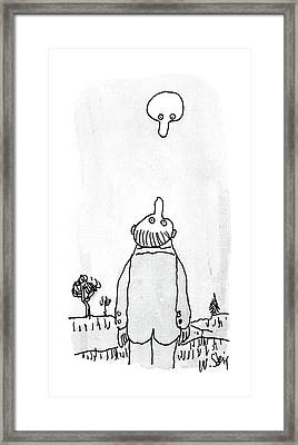 New Yorker August 3rd, 1987 Framed Print by William Steig