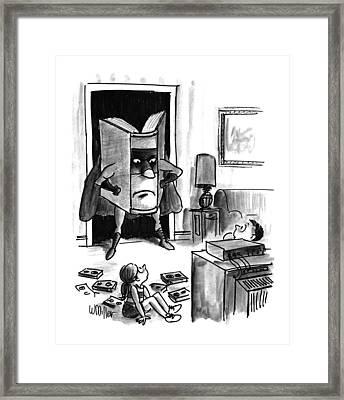 New Yorker August 3rd, 1992 Framed Print by Warren Miller