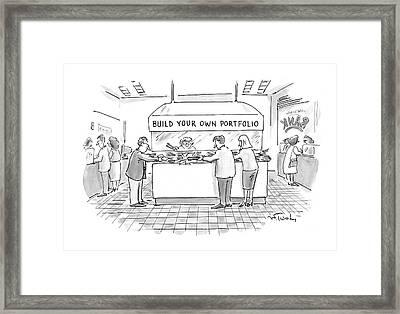 New Yorker August 4th, 1997 Framed Print