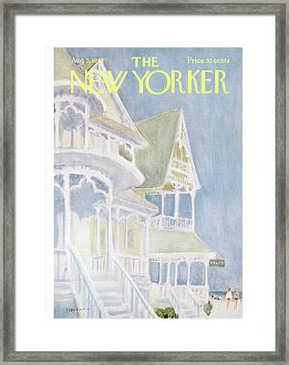 New Yorker August 5th, 1967 Framed Print by James Stevenson