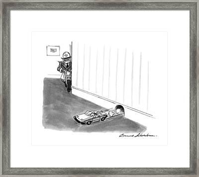 New Yorker August 5th, 1991 Framed Print by Bernard Schoenbaum