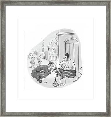 New Yorker August 7th, 1943 Framed Print