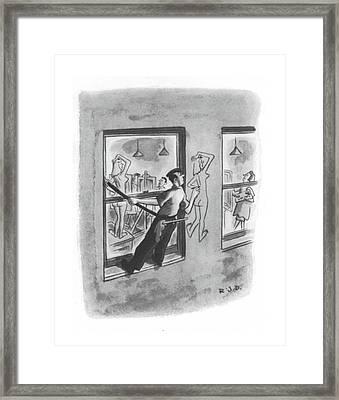 New Yorker August 7th, 1943 Framed Print