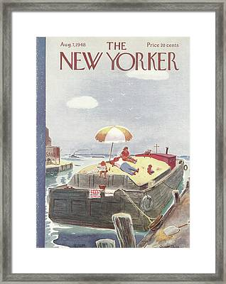 New Yorker August 7th, 1948 Framed Print