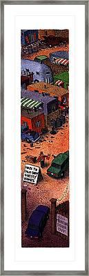 New Yorker August 7th, 1995 Framed Print