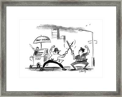 New Yorker August 8th, 1988 Framed Print by Donald Reilly