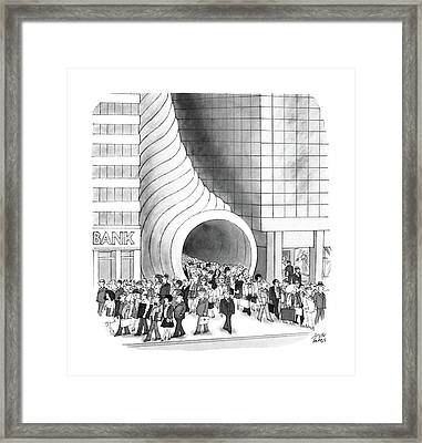 New Yorker August 8th, 1988 Framed Print by Joseph Farris