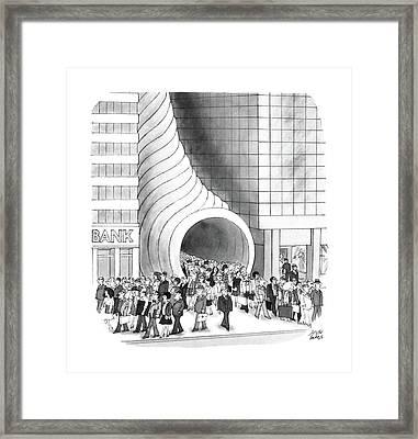 New Yorker August 8th, 1988 Framed Print