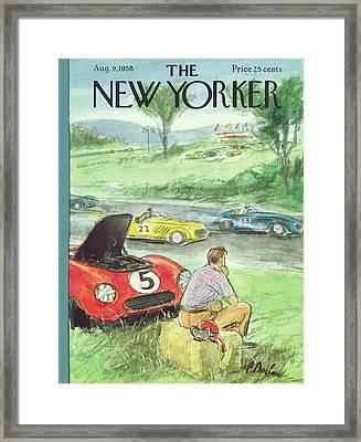 New Yorker August 9th, 1958 Framed Print
