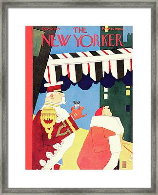 New Yorker December 10th, 1927 Framed Print by Gardner Rea
