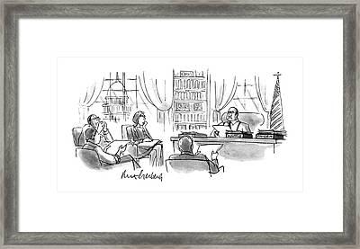 New Yorker December 11th, 1995 Framed Print