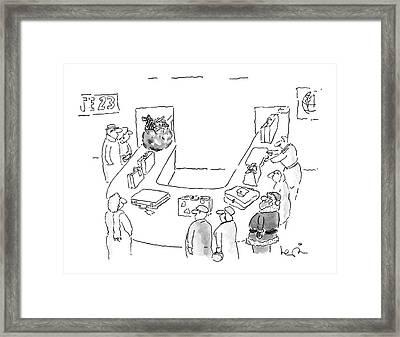 New Yorker December 12th, 1988 Framed Print by Arnie Levin