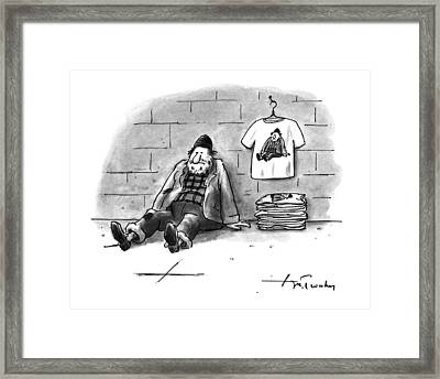 New Yorker December 12th, 1994 Framed Print by Mike Twohy
