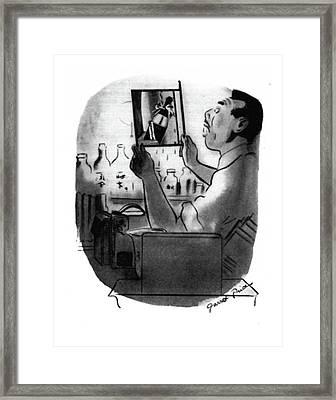 New Yorker December 13th, 1941 Framed Print by Garrett Price