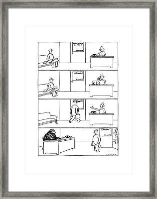 New Yorker December 13th, 1941 Framed Print by Otto Soglow