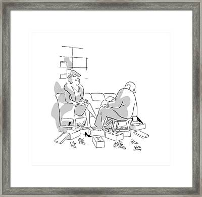 New Yorker December 14th, 1946 Framed Print by Chon Day