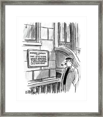New Yorker December 14th, 1987 Framed Print