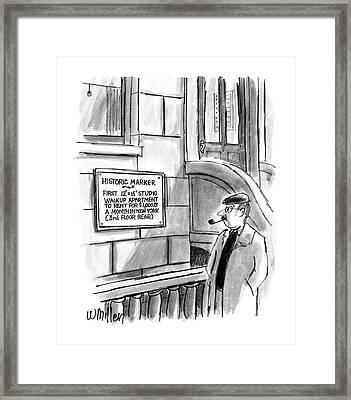 New Yorker December 14th, 1987 Framed Print by Warren Miller