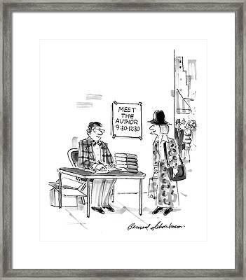 New Yorker December 15th, 1997 Framed Print