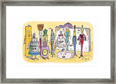 New Yorker December 15th, 1997 Framed Print by Roz Chast