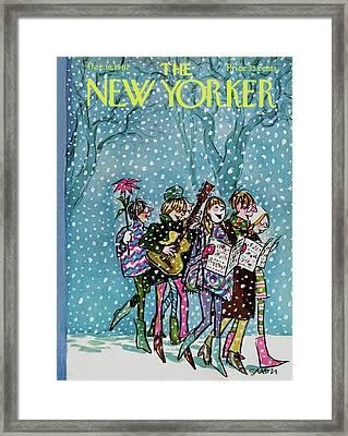 New Yorker December 16th, 1967 Framed Print