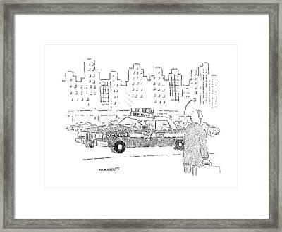 New Yorker December 16th, 1991 Framed Print by Robert Mankoff