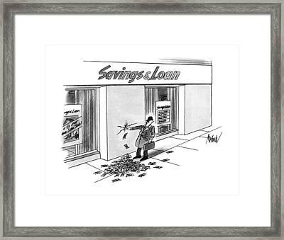 New Yorker December 17th, 1990 Framed Print by Kenneth Mahood