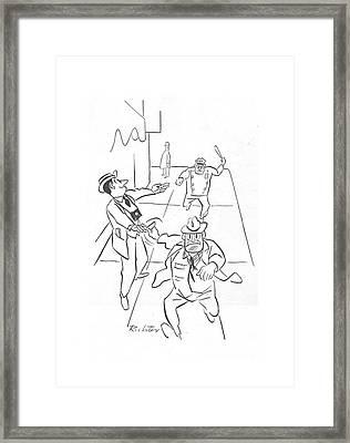New Yorker December 18th, 1943 Framed Print
