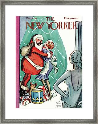 New Yorker December 19th, 1931 Framed Print by Peter Arno