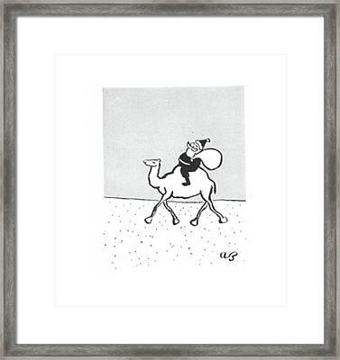 New Yorker December 19th, 1942 Framed Print