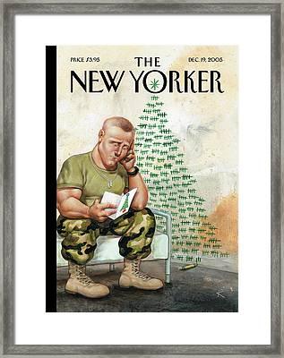 New Yorker December 19th, 2005 Framed Print