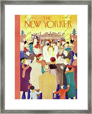 New Yorker December 2 1939 Framed Print
