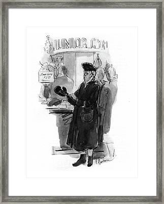 New Yorker December 20th, 1941 Framed Print by Perry Barlow