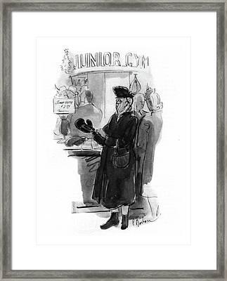 New Yorker December 20th, 1941 Framed Print