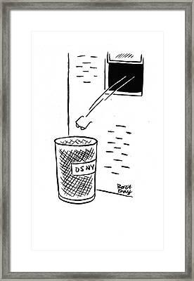 New Yorker December 20th, 1941 Framed Print by Robert J. Day
