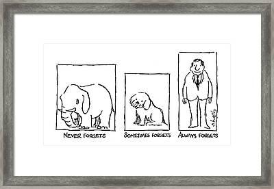 New Yorker December 21st, 1981 Framed Print