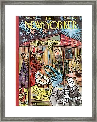 New Yorker December 22nd, 1962 Framed Print by William Steig