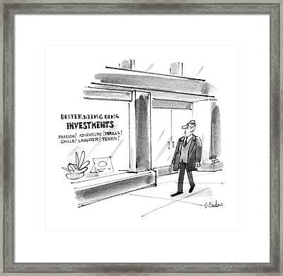 New Yorker December 22nd, 1986 Framed Print