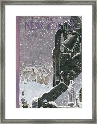 New Yorker December 23rd, 1944 Framed Print