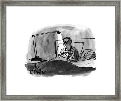New Yorker December 23rd, 1996 Framed Print by Warren Miller
