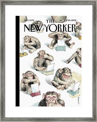 New Yorker December 23rd, 2002 Framed Print
