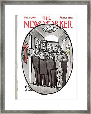 New Yorker December 24th, 1960 Framed Print
